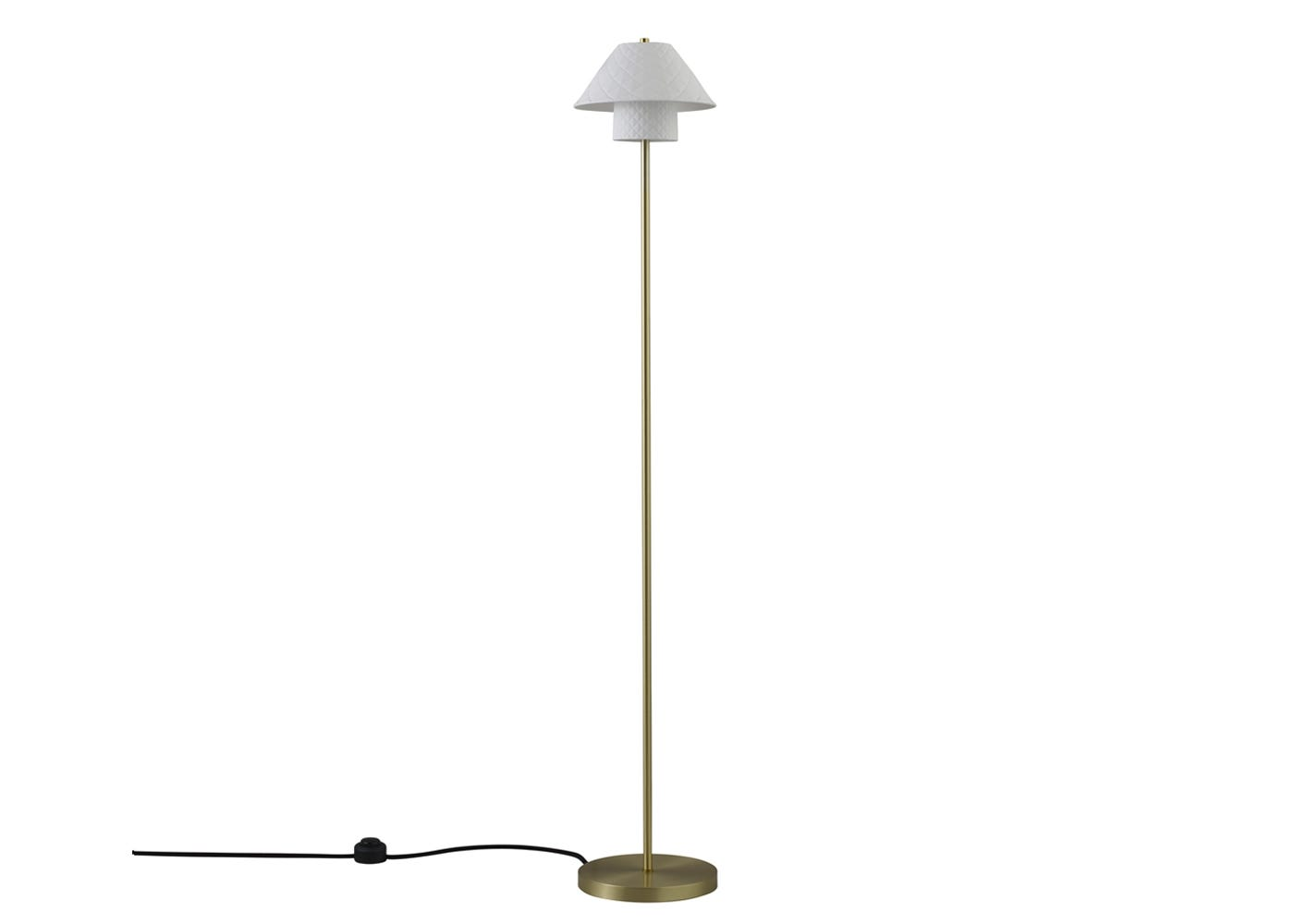 Oxford double floor lamp off