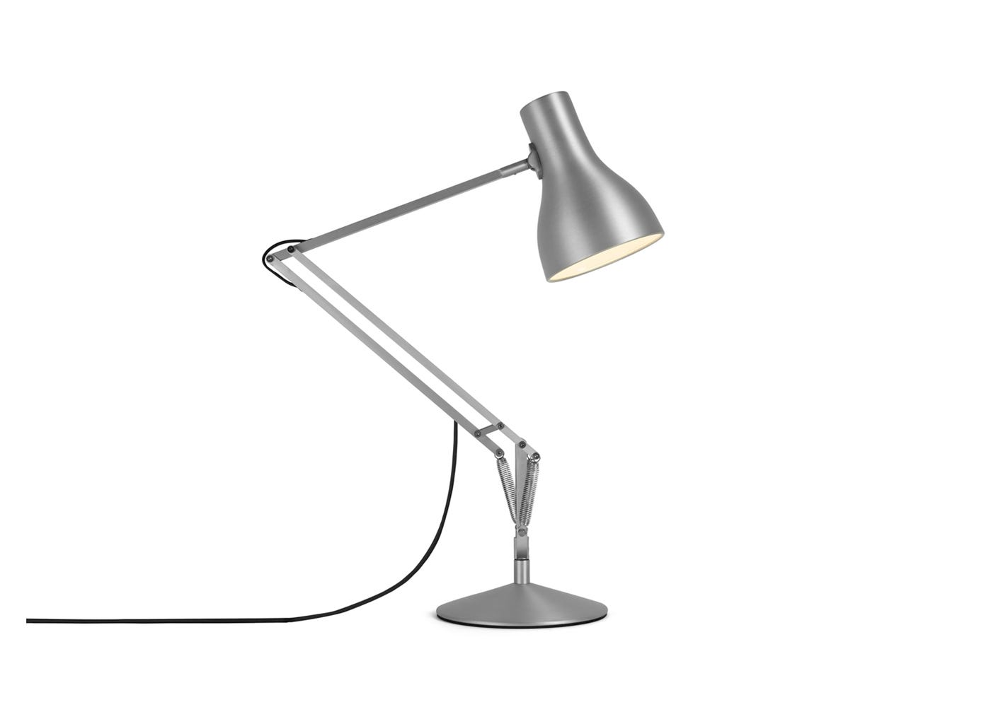 Type 75 Desk Lamp Silver Lustre