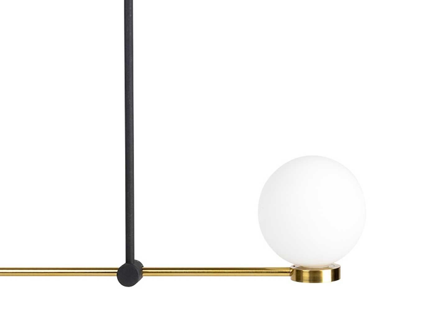Integrated LED glass globe
