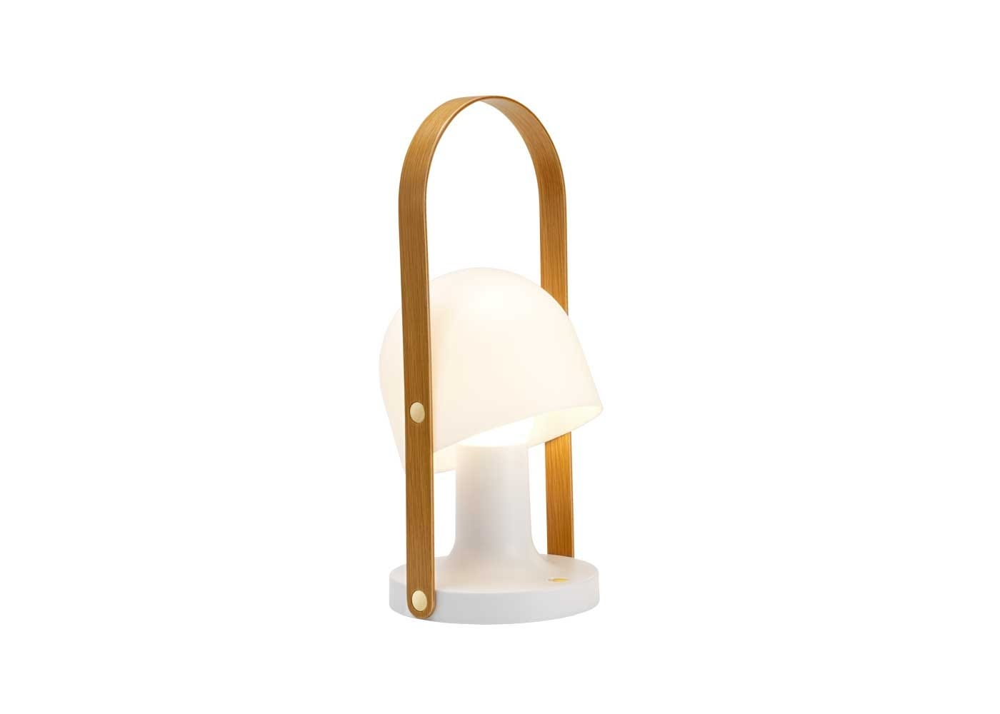 Follow me table lamp on.