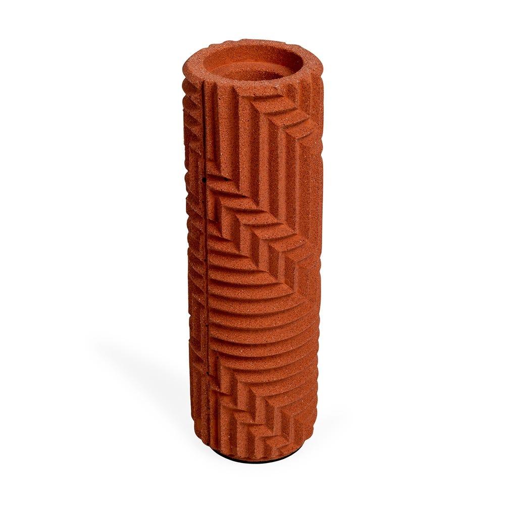 Herringbone Bud Vase