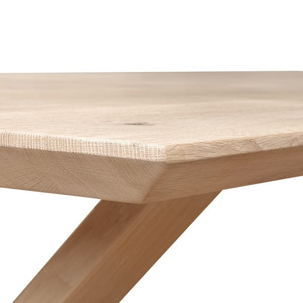 As shown chamfered edge profile for a modern clean appearance. straight or natural edge also available.
