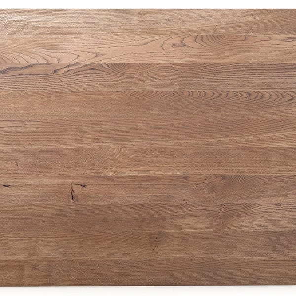 Shown with a solid oiled oak top, oiled walnut top available.
