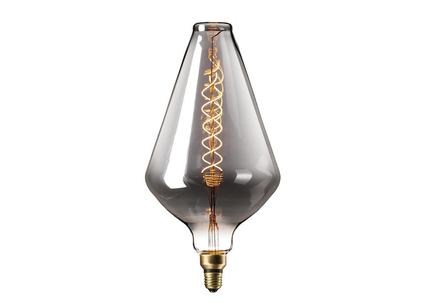 Vienna Bulb 6W E27 Titanium LED on