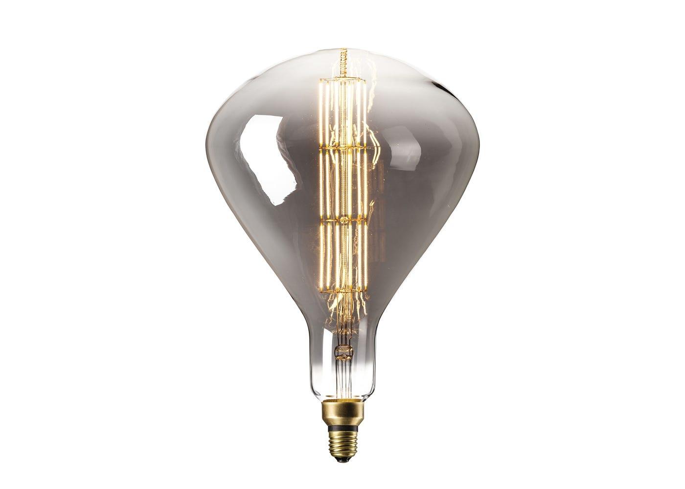 Sydney Bulb 8W E27 Titanium LED on