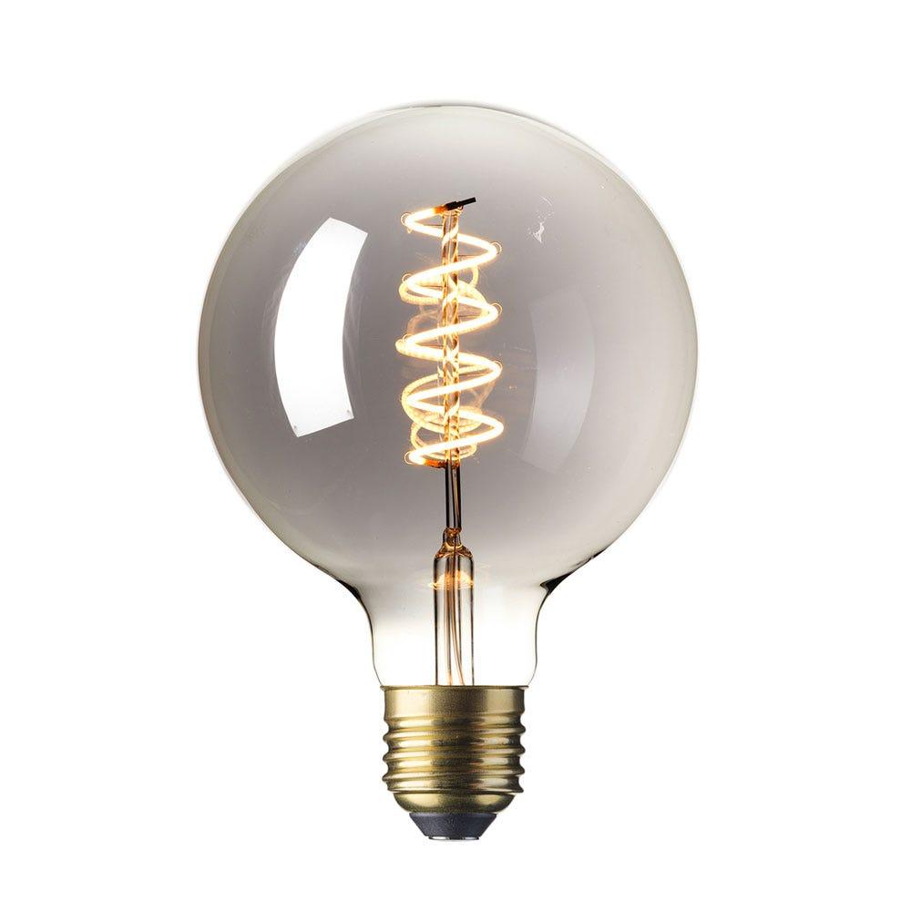 Globe Bulb Grey 4W E27 LED