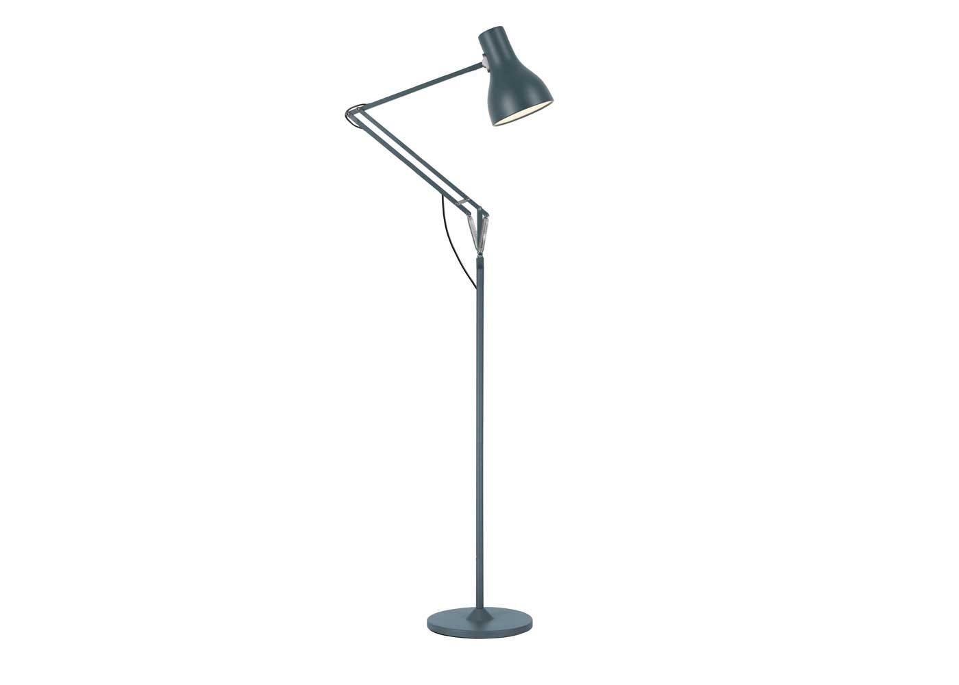 Type 75 floor lamp slate grey