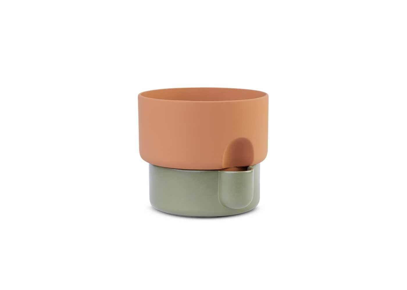 Oasis planter small green