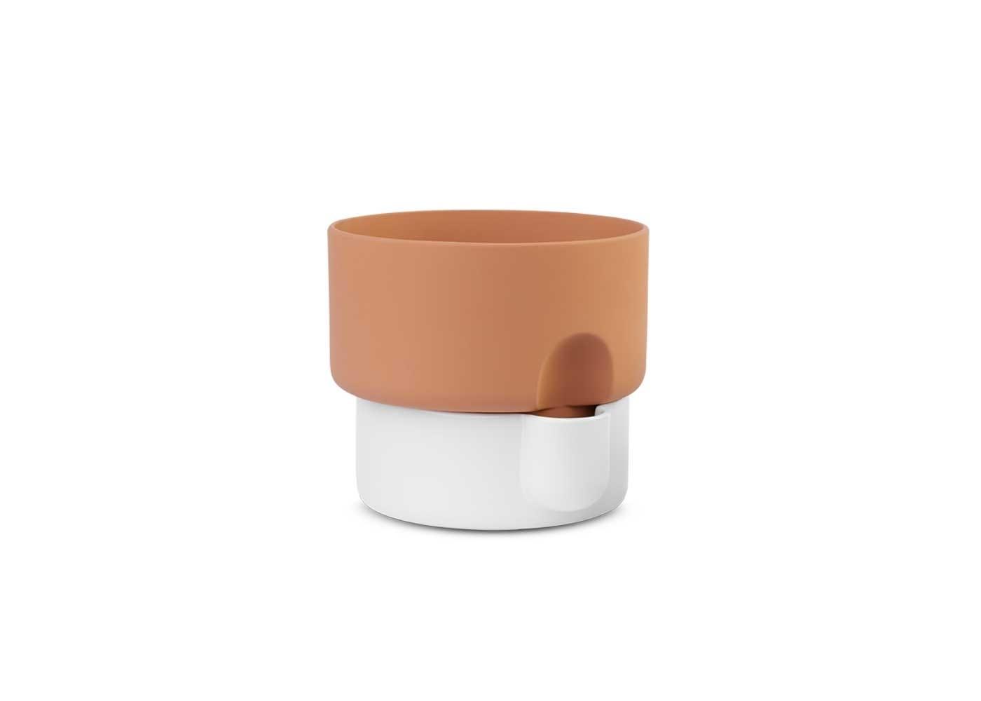 Oasis planter small white