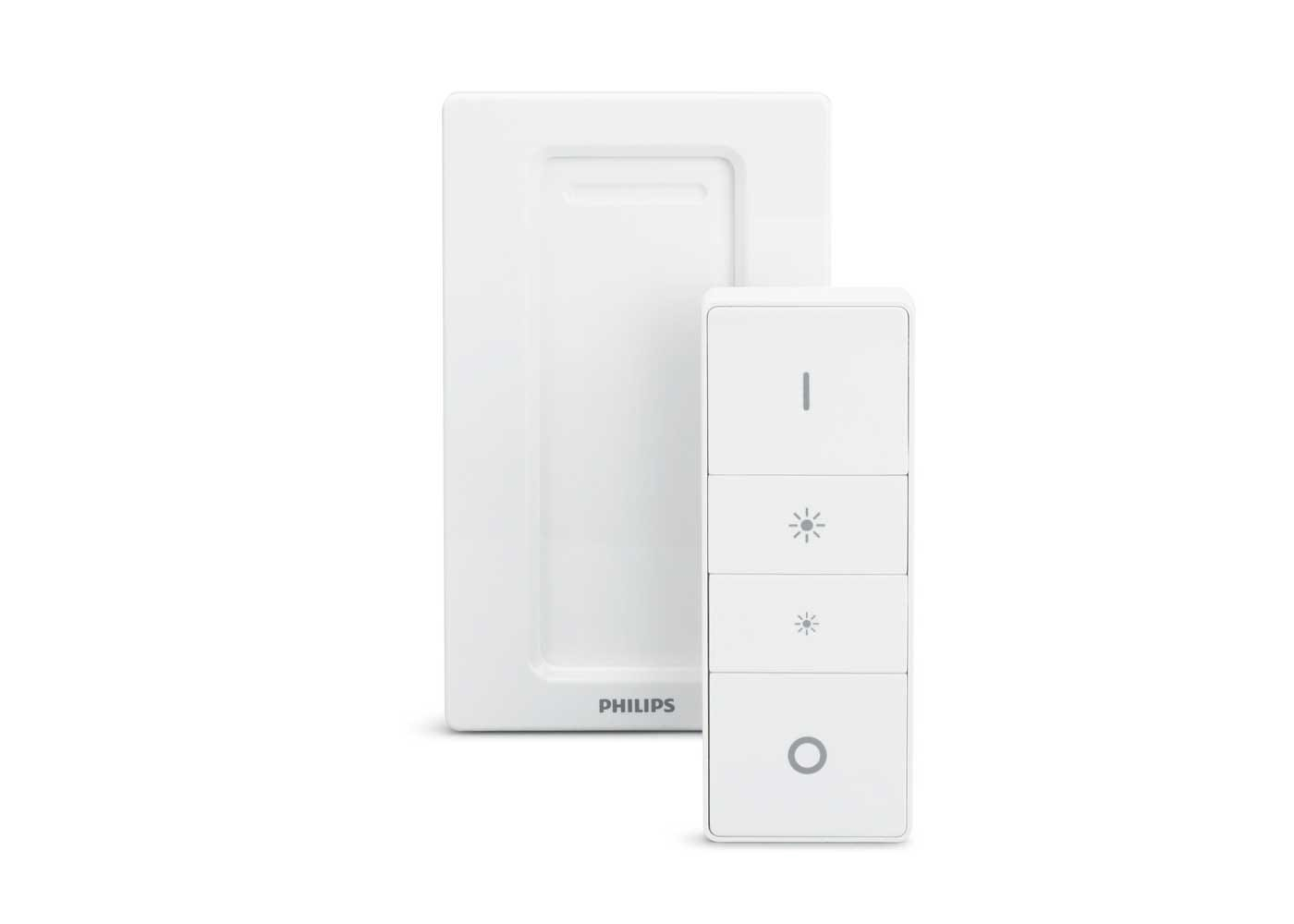 Hue Dimmer switch with wall bracket