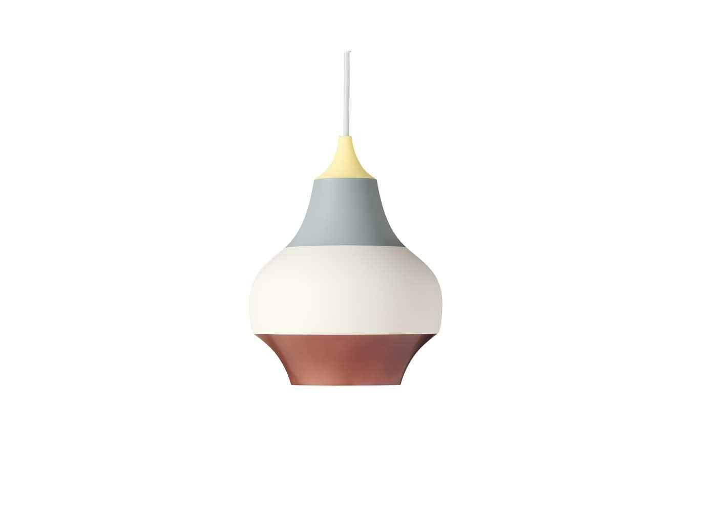 LP cirque pendant yellow tip small
