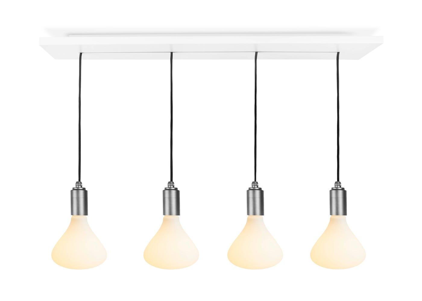 Noma 4 bulb Cluster pendant with graphite knuckle