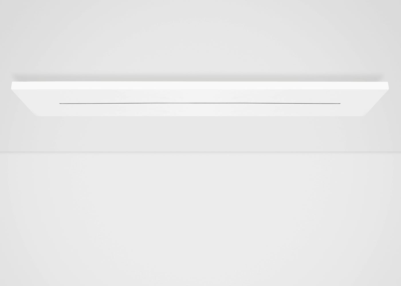 Linear ceiling plate