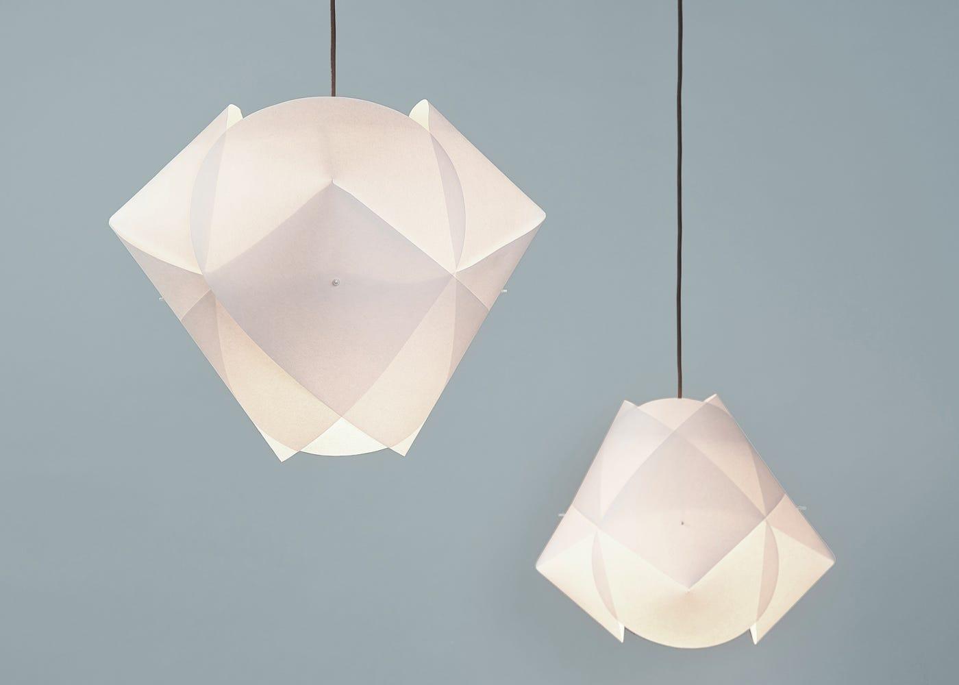 Ni-Ni pendant with Ni-Ni mini pendant hung in a cluster