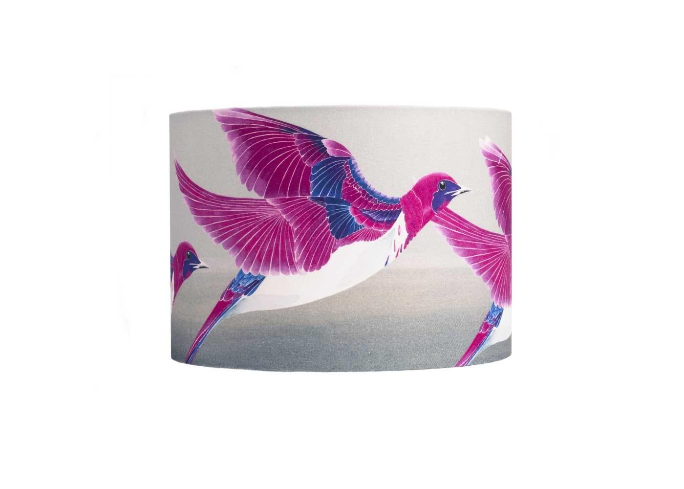 Violet backed starling lampshade medium