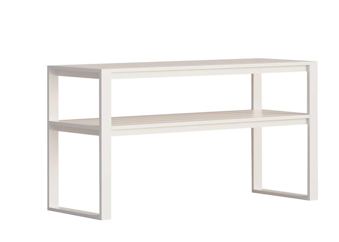 Eos rectangular bar table white