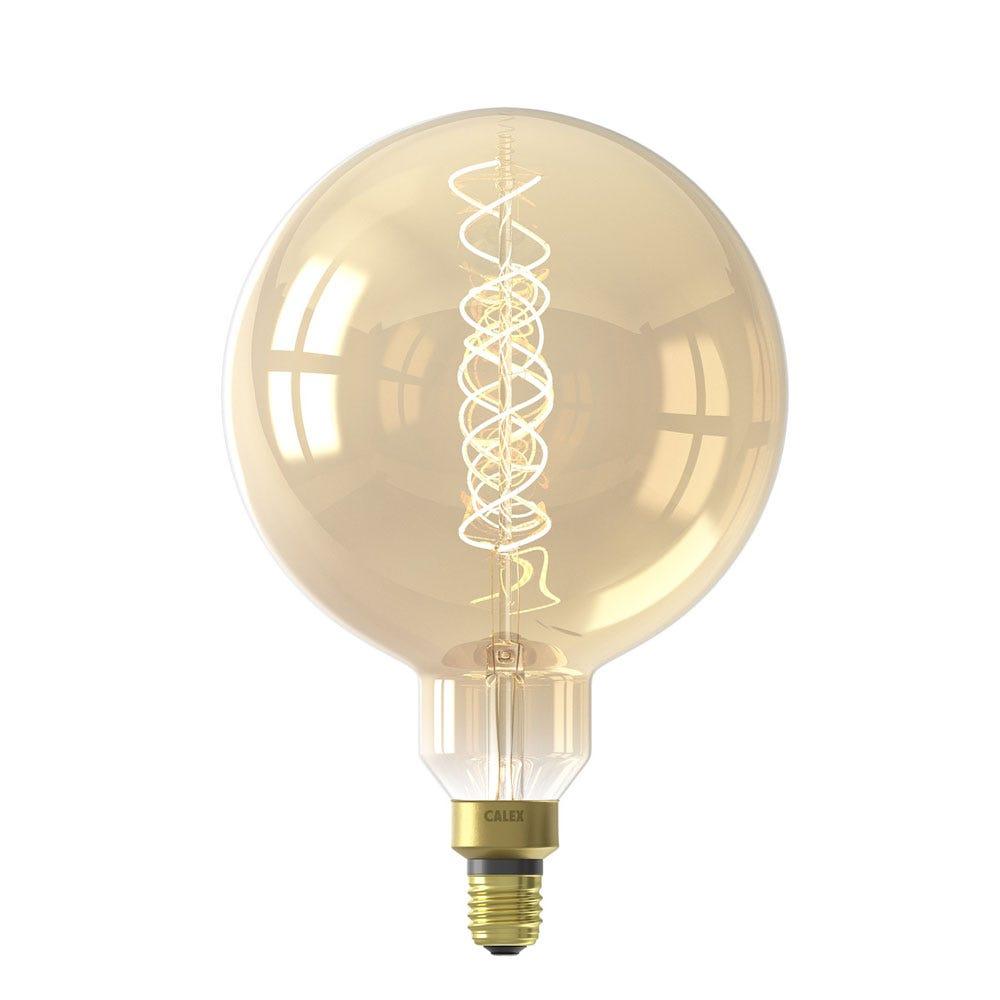 Globe Spiral Filament Gold Mega Bulb 4W E27 LED