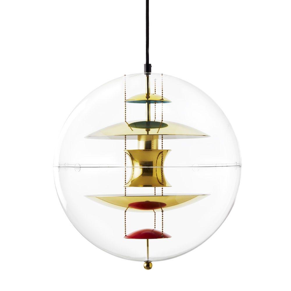 VP Globe Pendant Brass