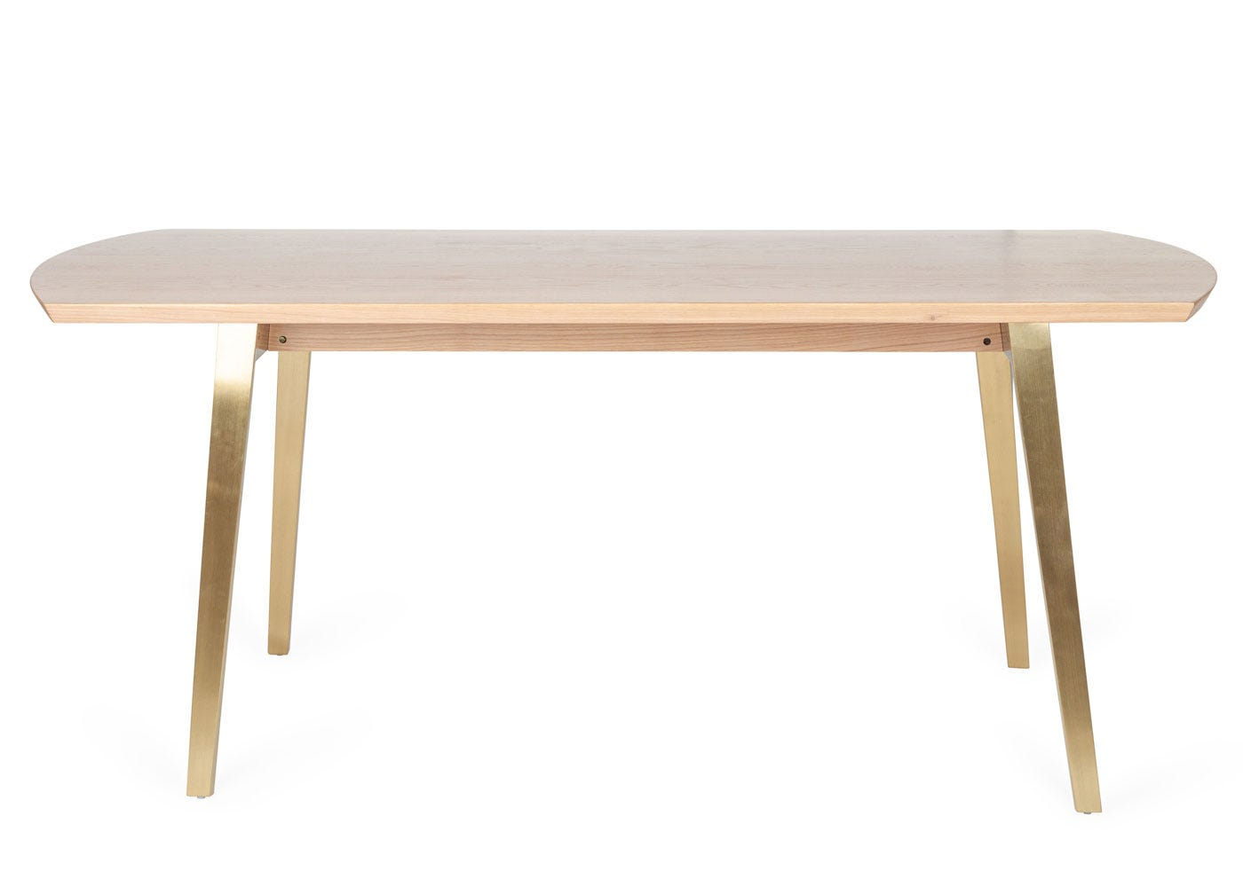 As shown: Crawford Dining Table - Front View