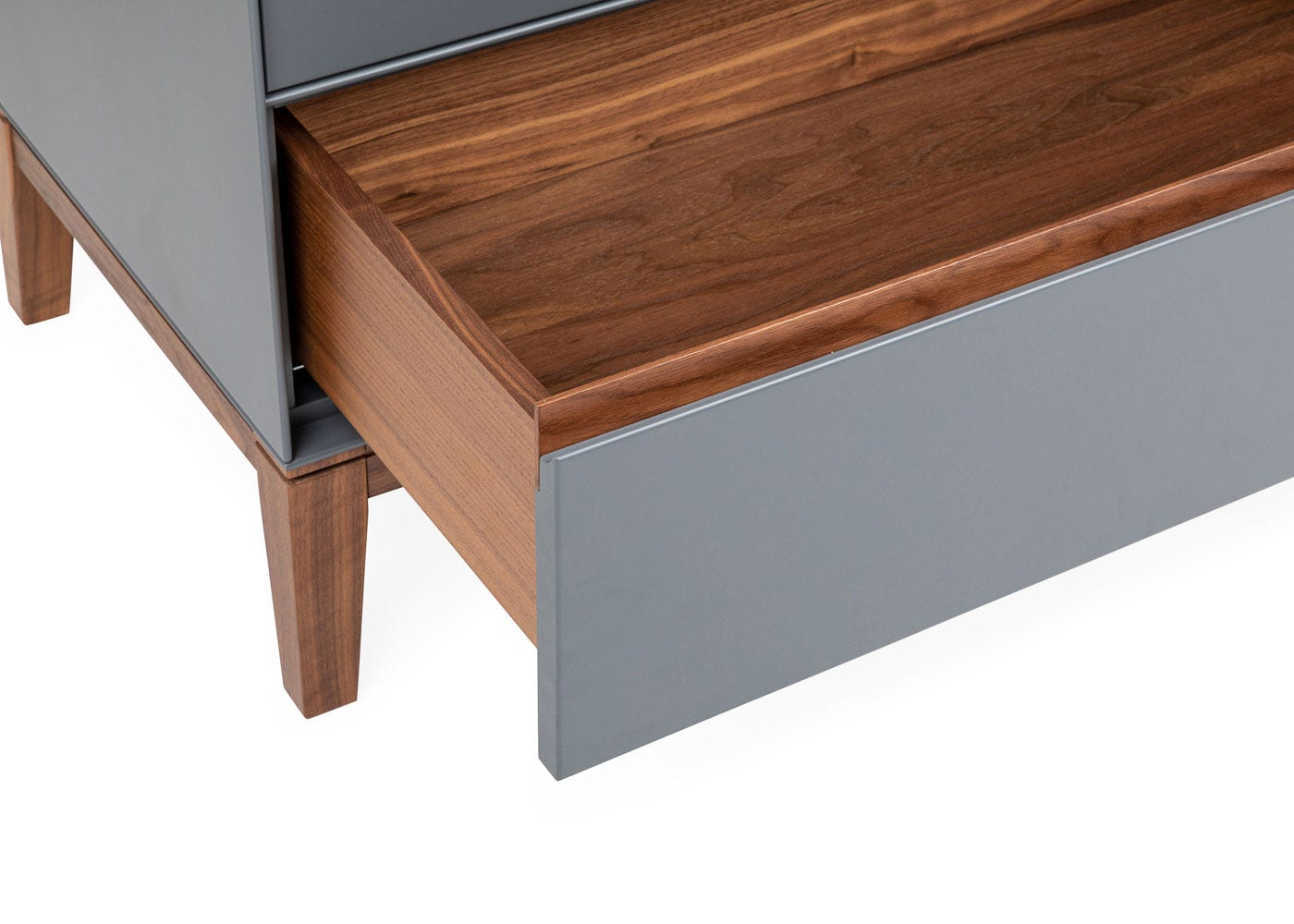 As shown: Lars 6 Drawer Chest Wide