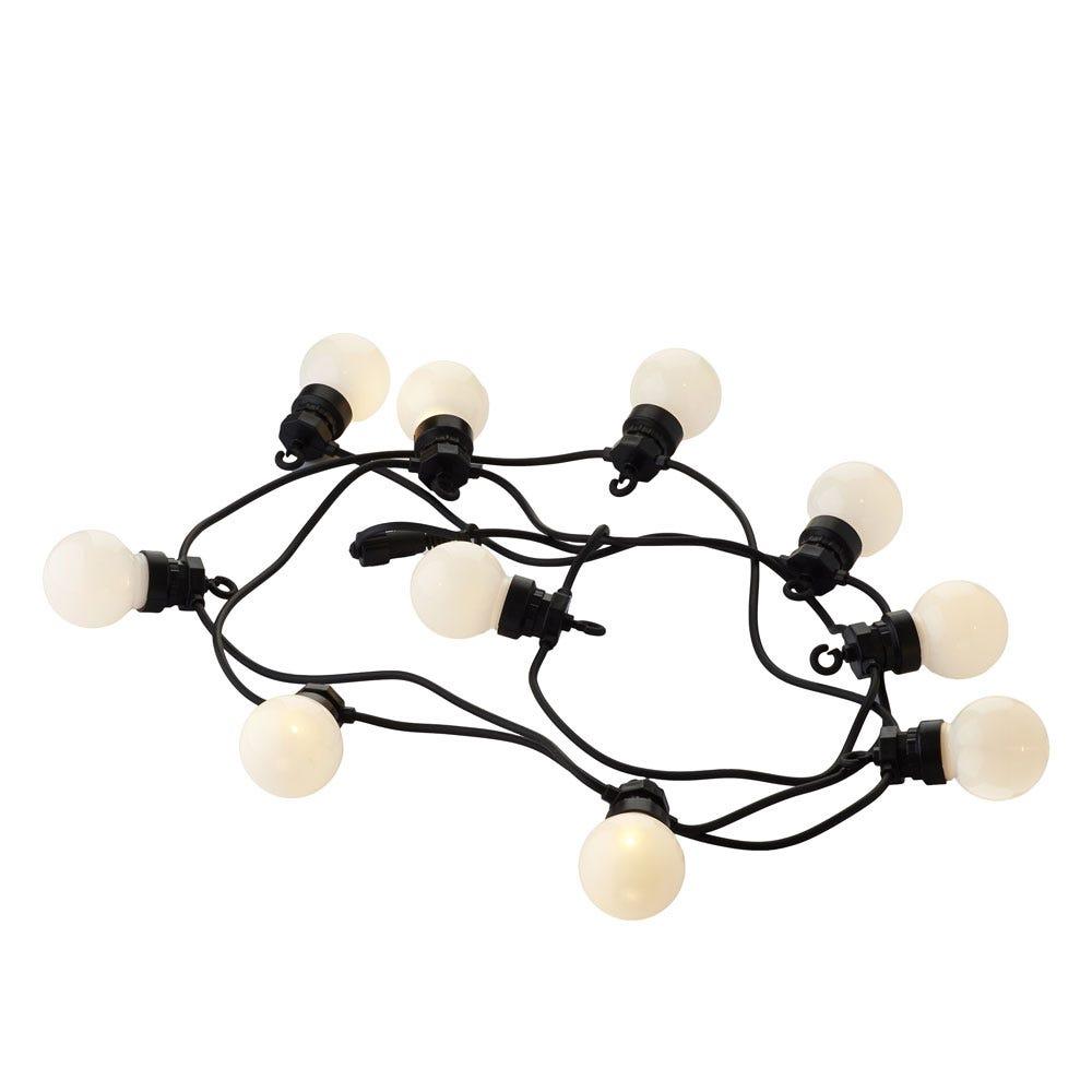 Lucas Outdoor String Lights Frosted Starter Set