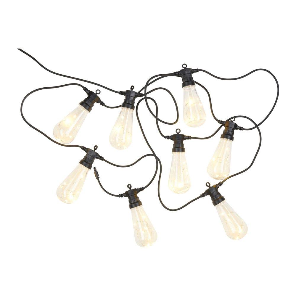 Lasse Outdoor String Lights Clear Starter Set