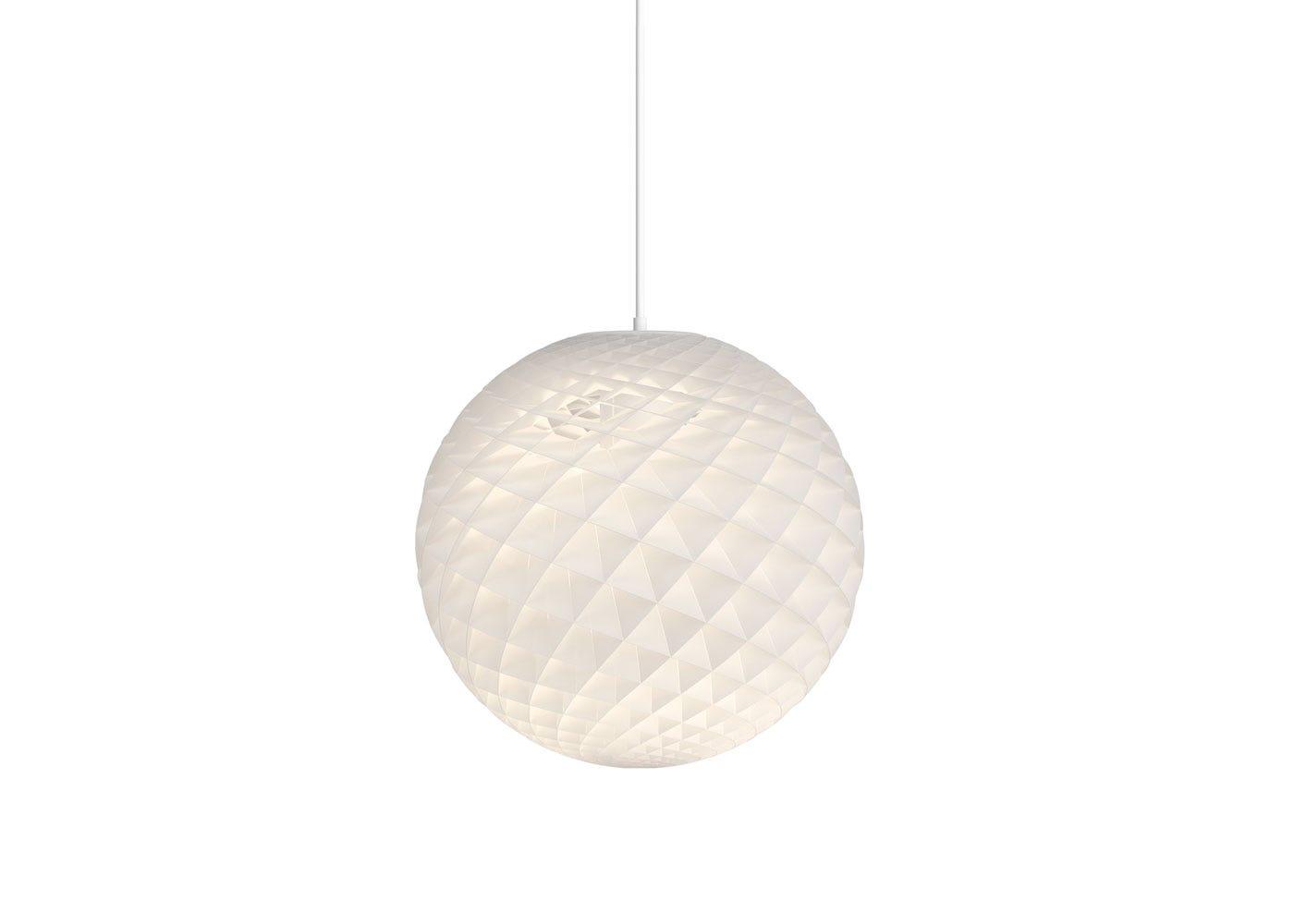 Patera Pendant Light White Dia 45cm