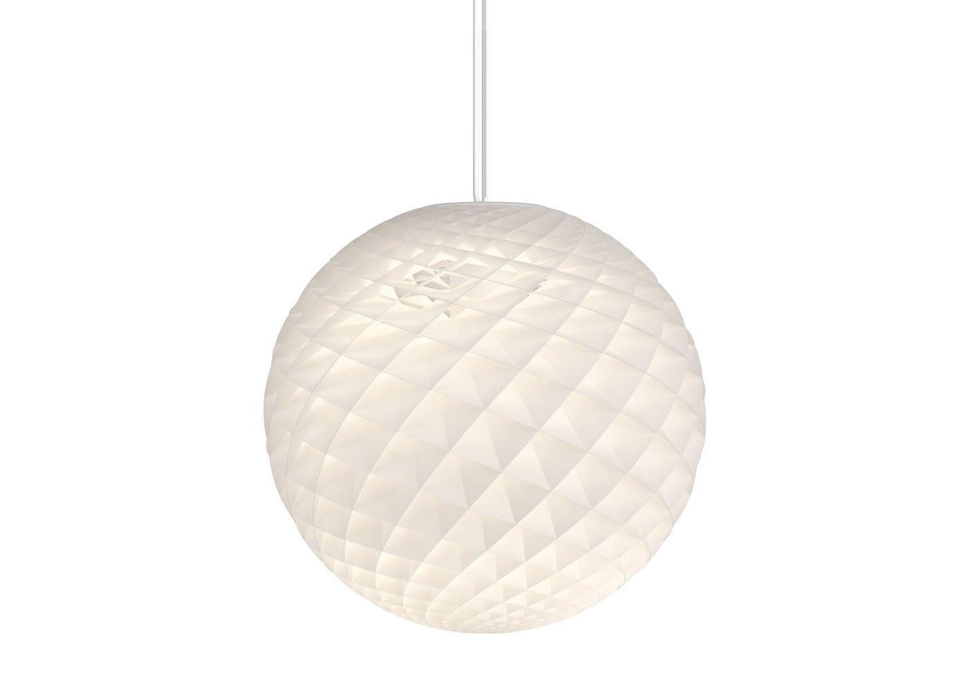 Patera Pendant Light White Dia 60cm