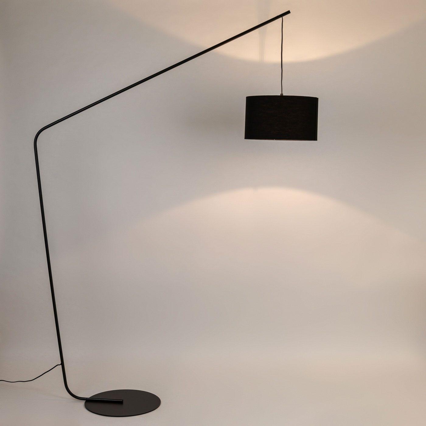 Manhattan Floor Lamp Black - On