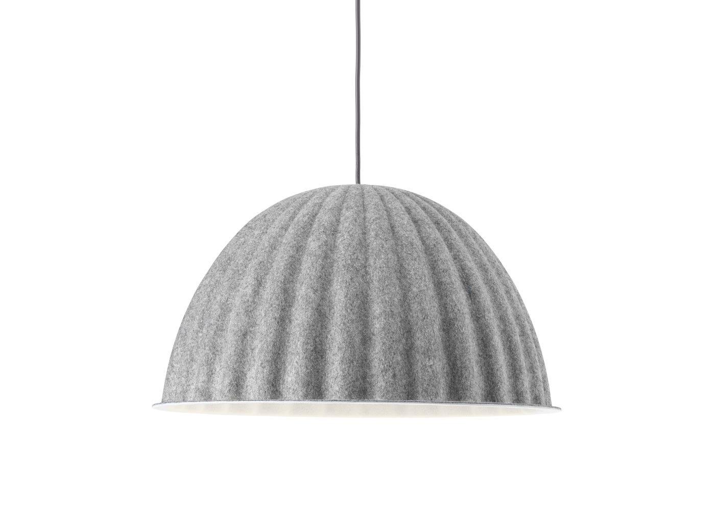 Under The Bell Pendant Light Grey Dia 55cm