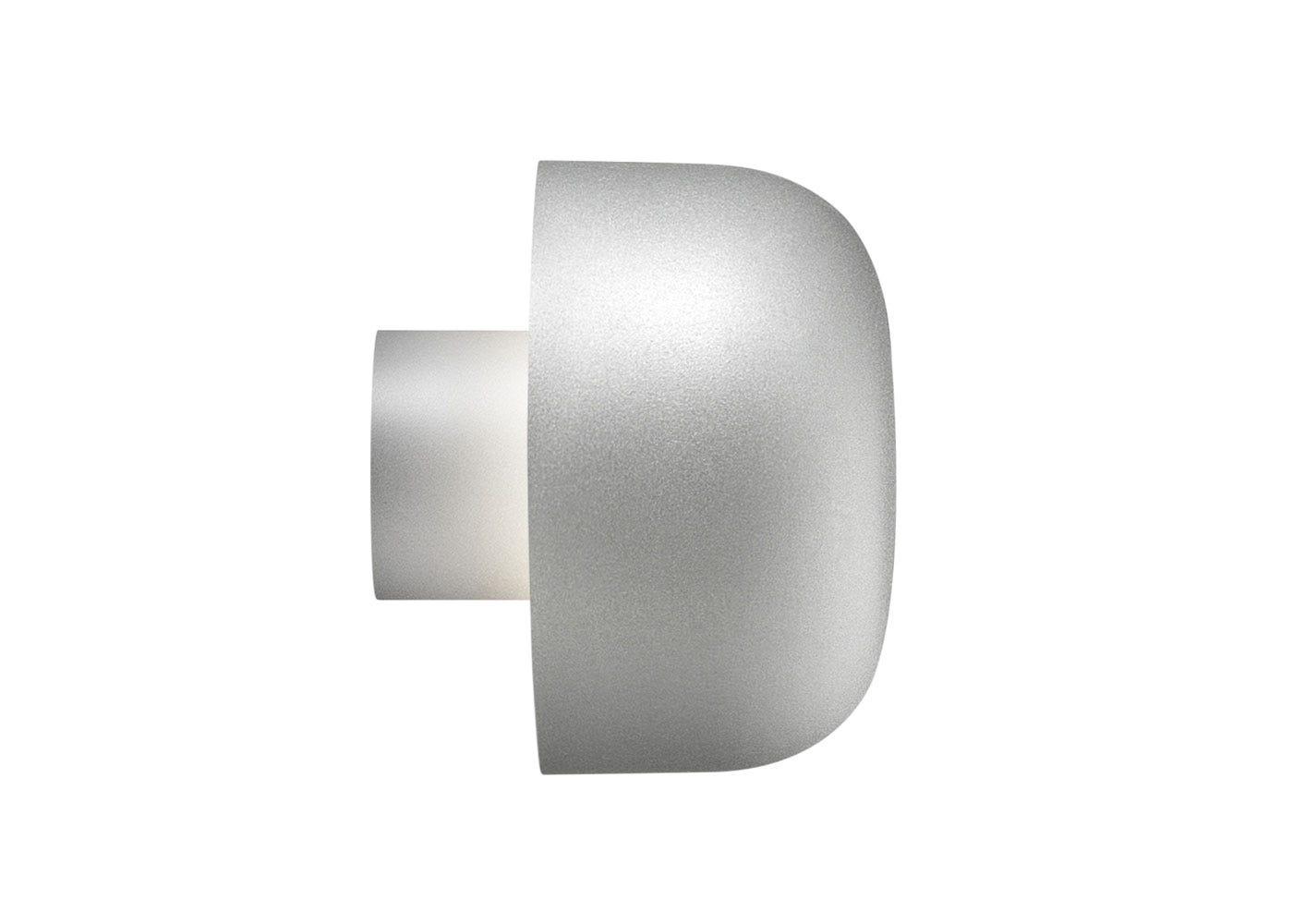 As Shown: Bellhop Wall Light Silver.