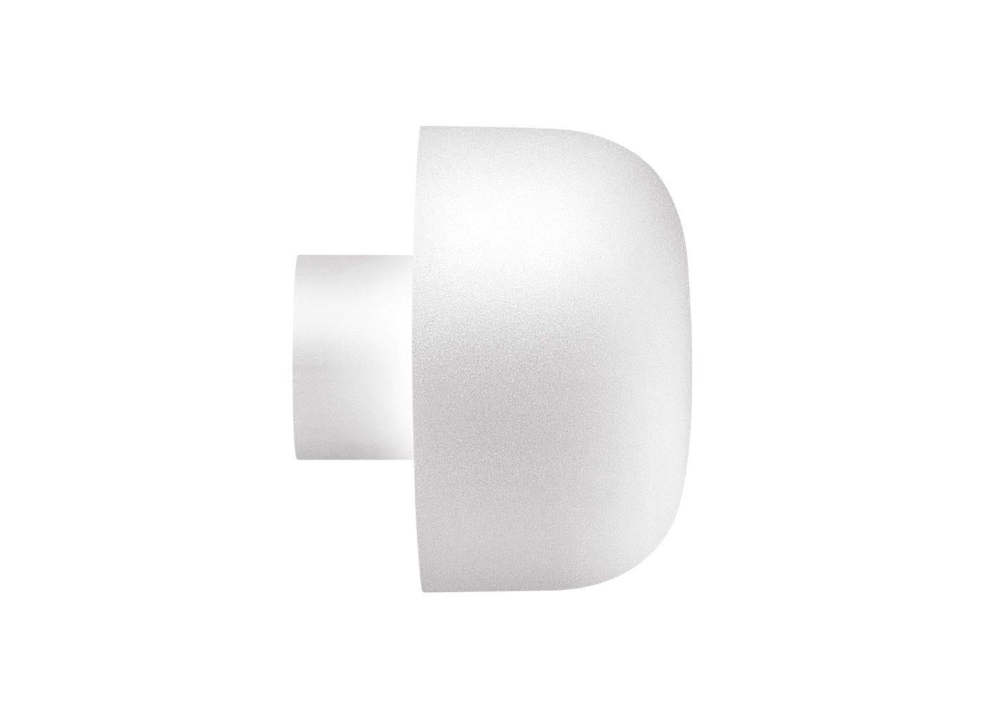 As Shown: Bellhop Wall Light White.