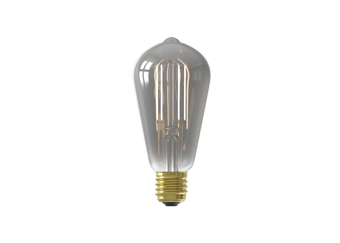 As shown: Smart LED Filament Rustic Smoke 7W E27 - On