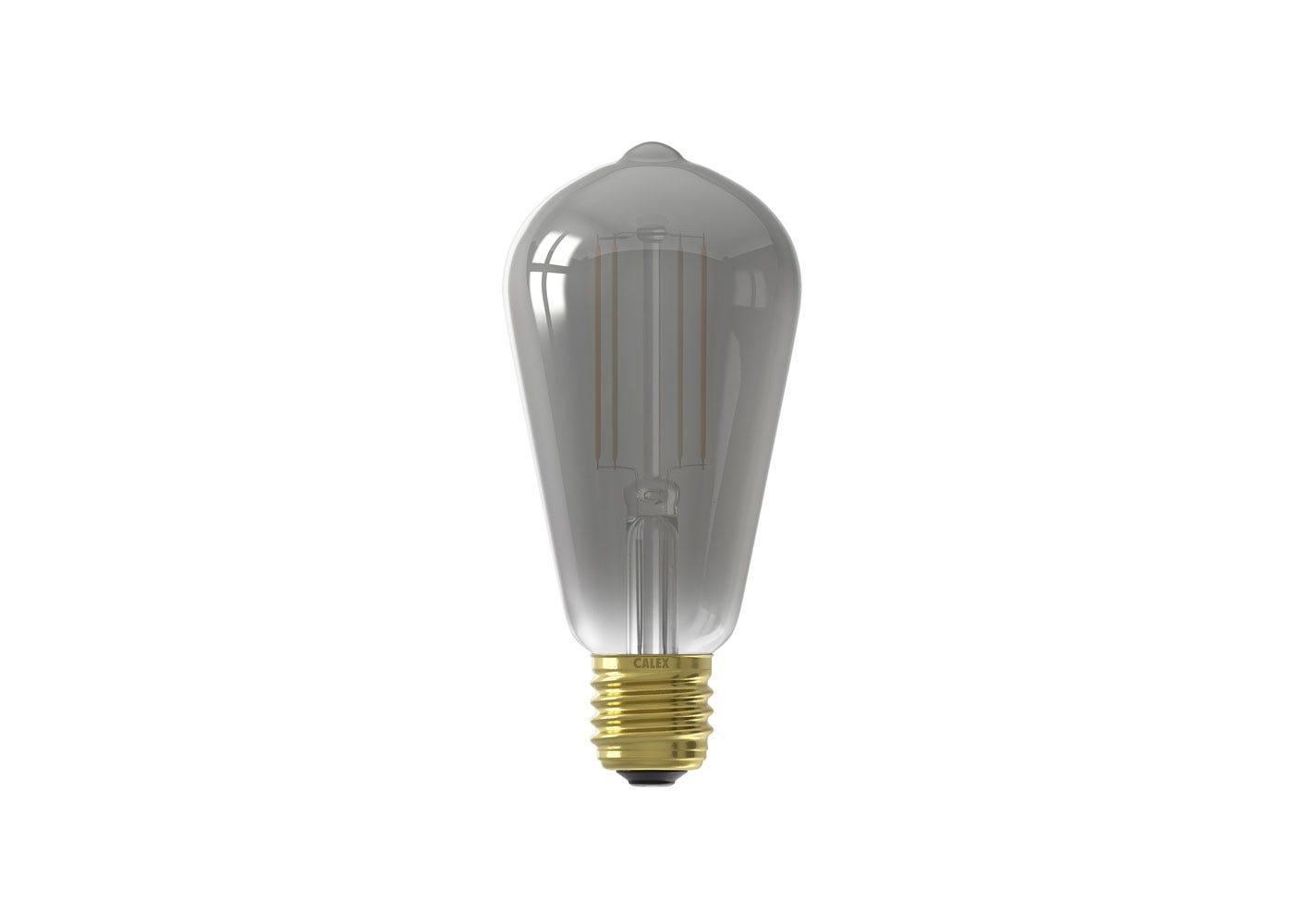 As shown: Smart LED Filament Rustic Smoke 7W E27 - Off
