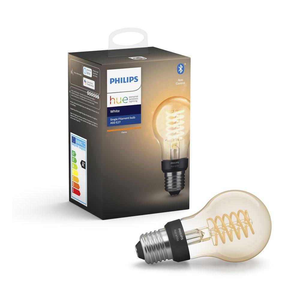 Hue Smart Bulb White 9W A60 E27 LED Set of 2