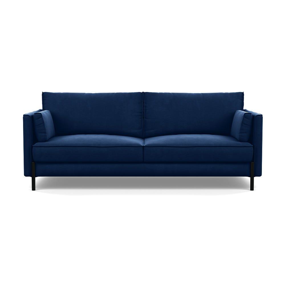 Tortona 3 Seater Sofa Velvet Midnight