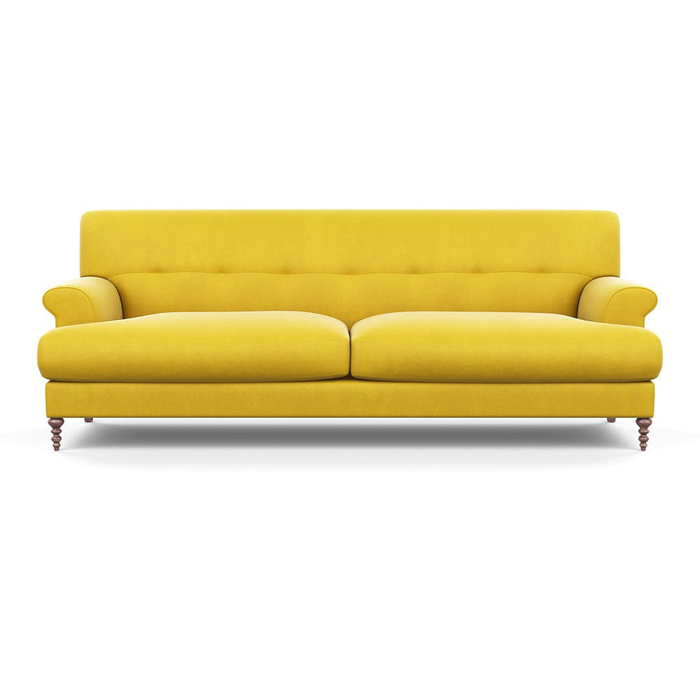Oscar Formal 3 Seater Sofa