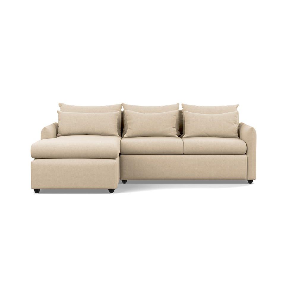 Pillow Medium Left Hand Corner Chaise Sofa Bed