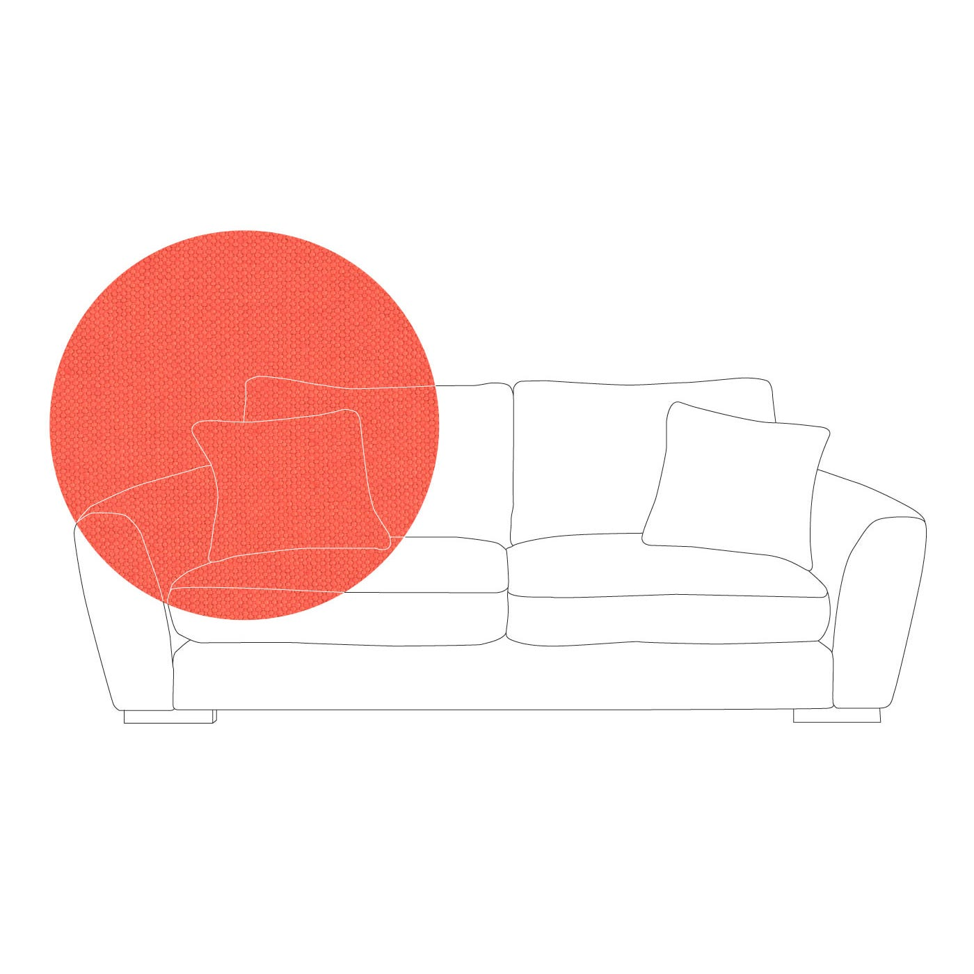 Slouch 3 Seater Sofa