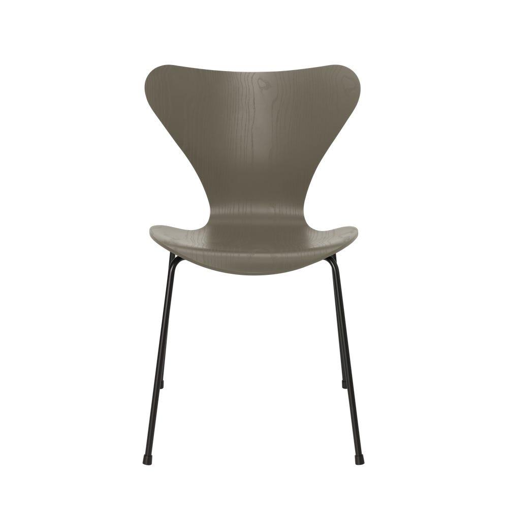 Series 7 Chair Coloured Ash Black Legs