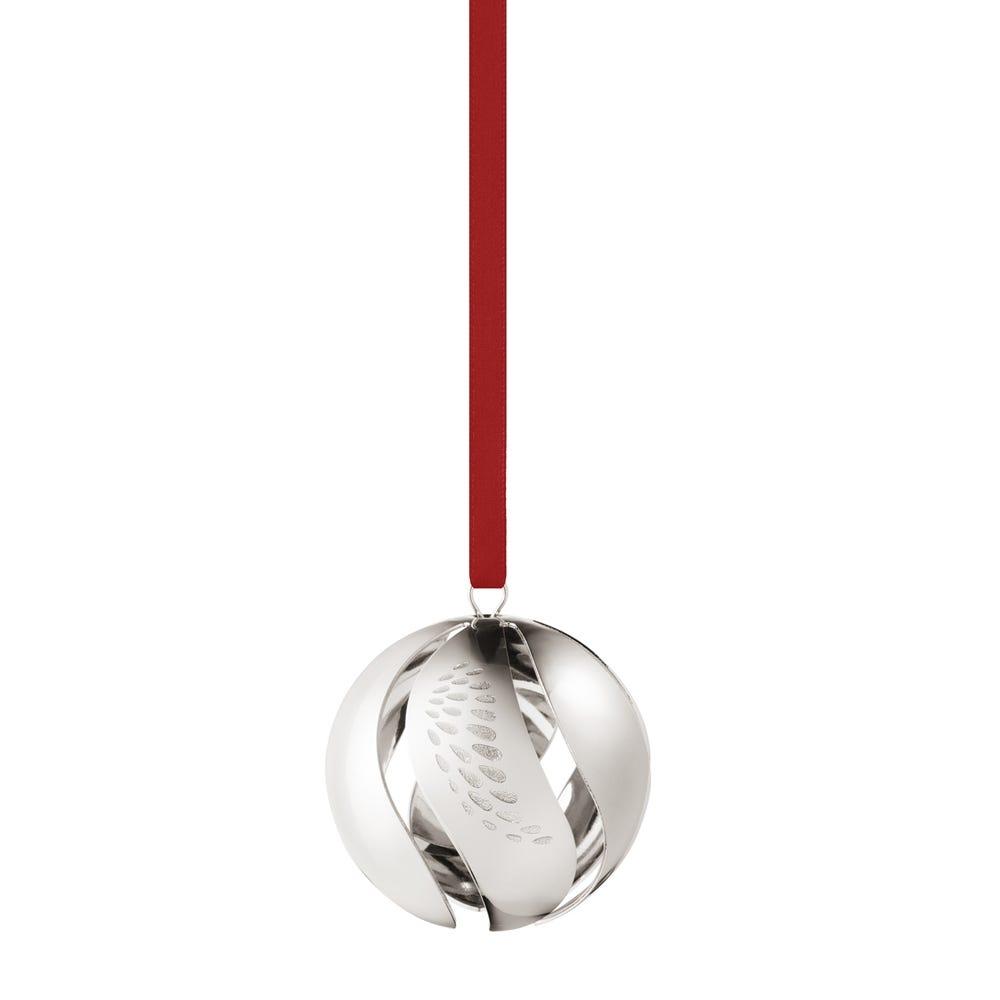 2018 Christmas Ball Palladium Decoration