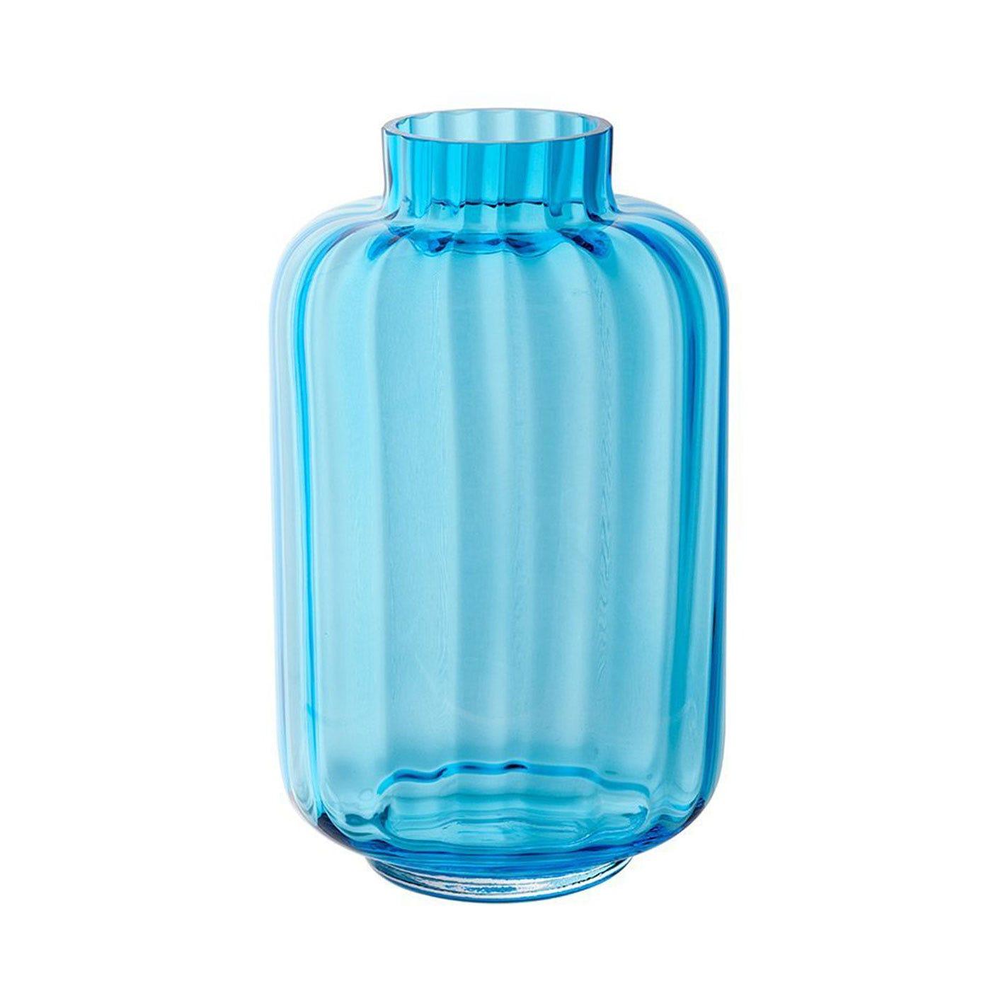 Lantern Turquoise Vase