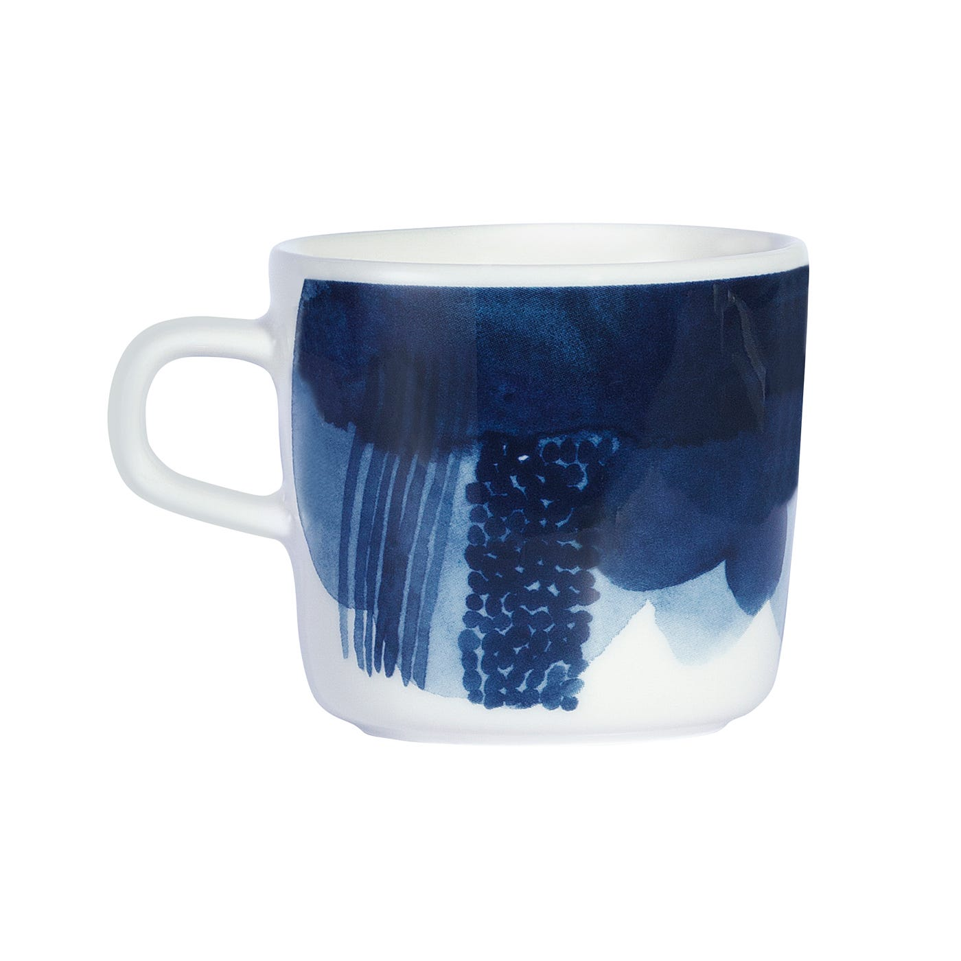 Weather Diary Coffee Cup White Blue