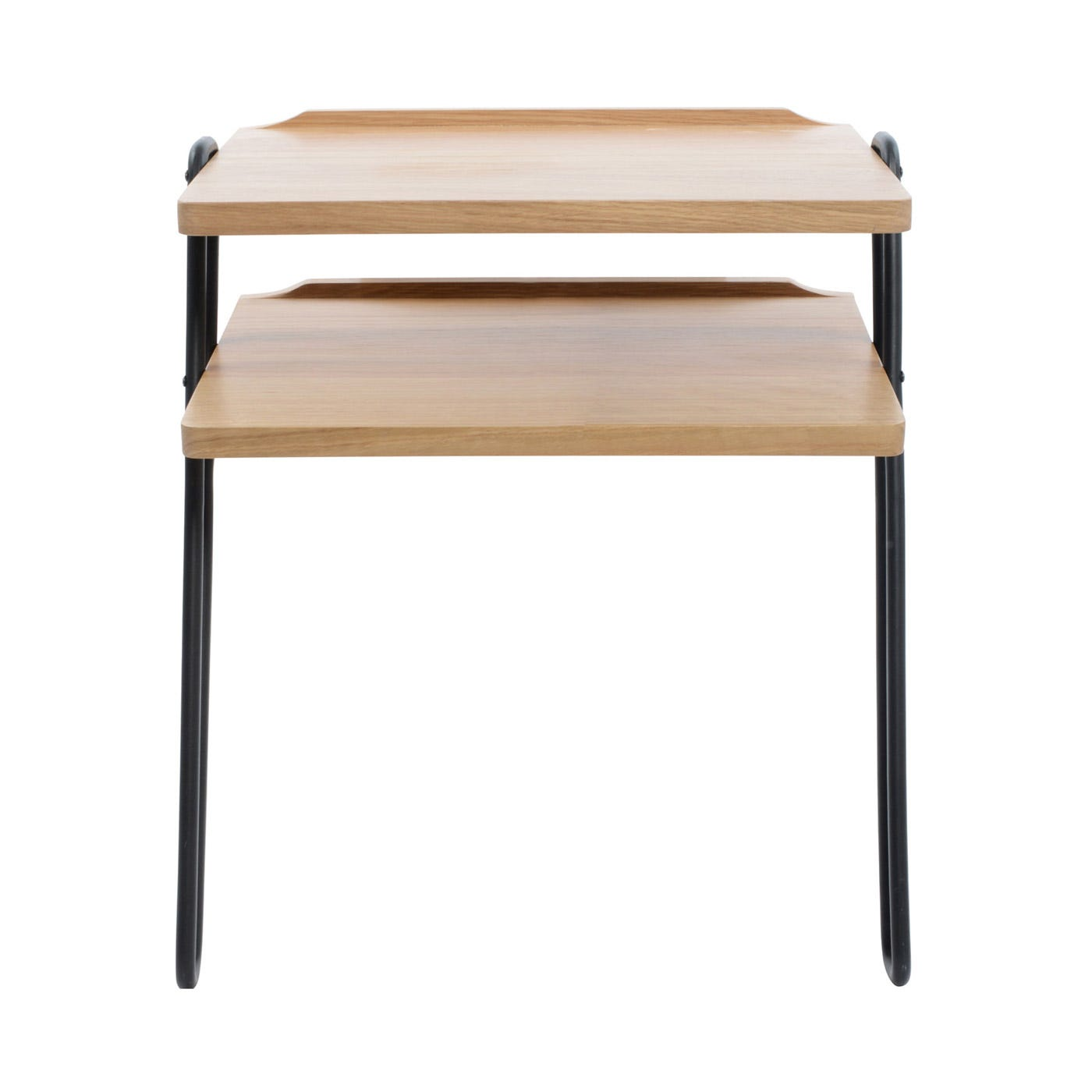 Brunel Lean-To Side Table Metal