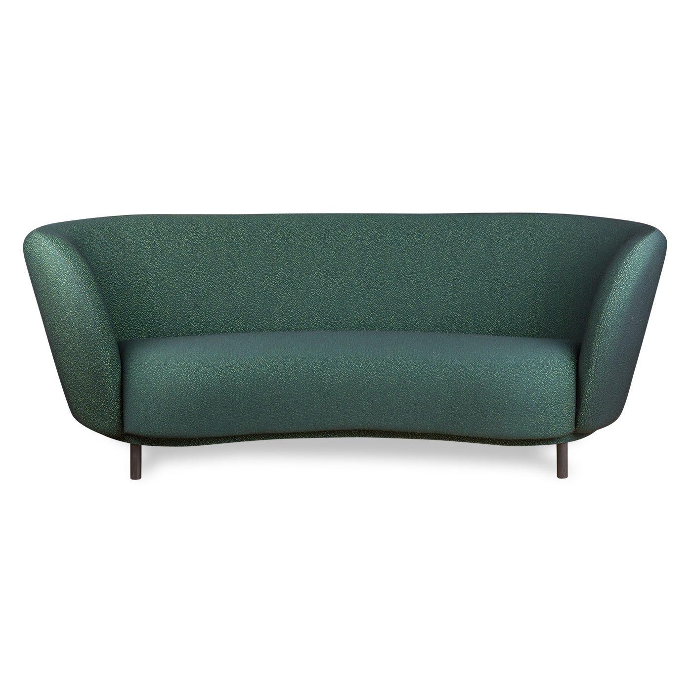Dandy 2 Seat Sofa Sprinkles Starling Black Feet