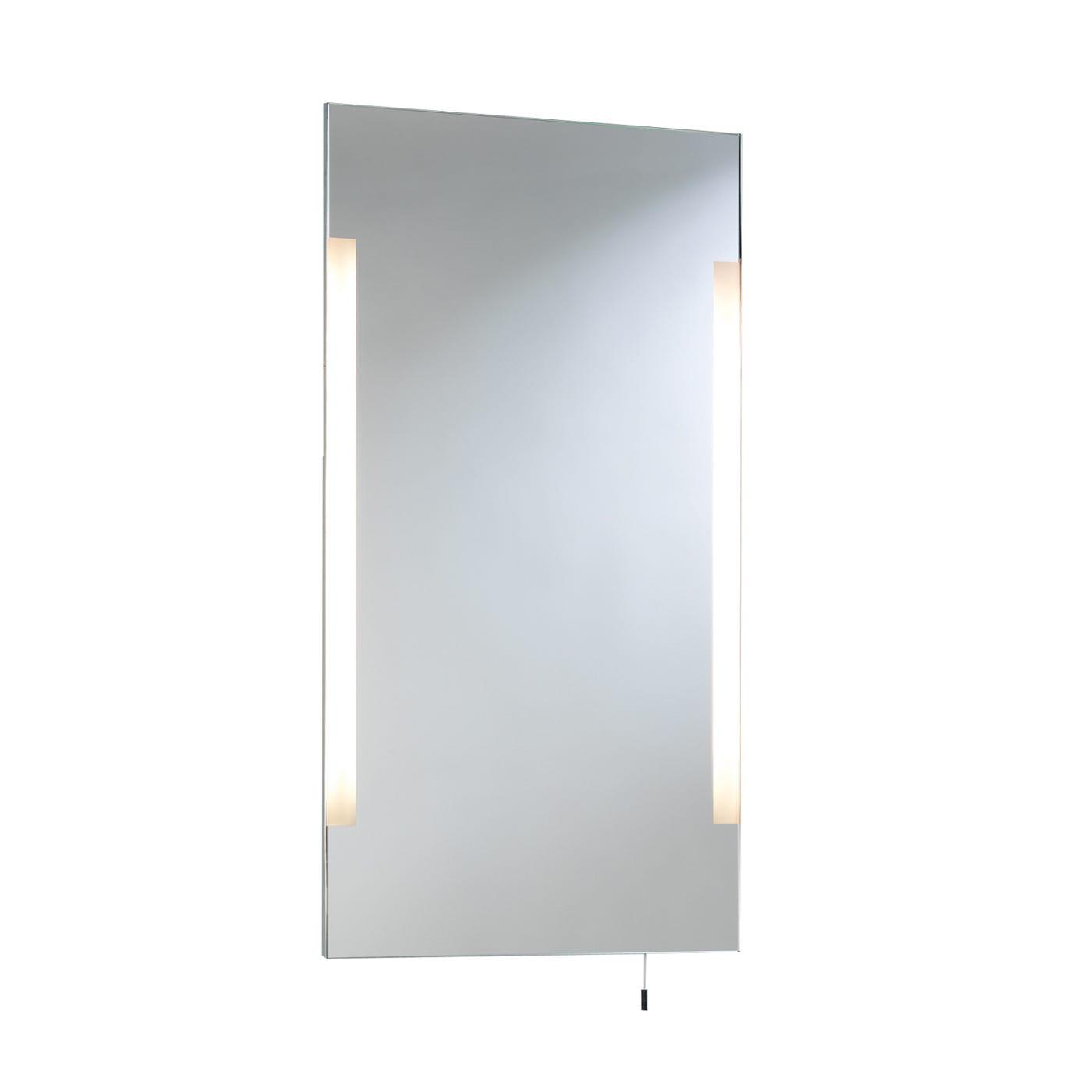 Heal 39 s imola tall illuminated bathroom mirror heal s for Illuminated mirrors