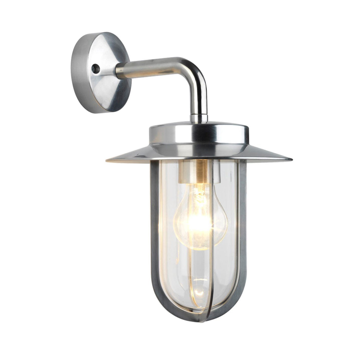 Montparnasse Outdoor Lantern Nickel