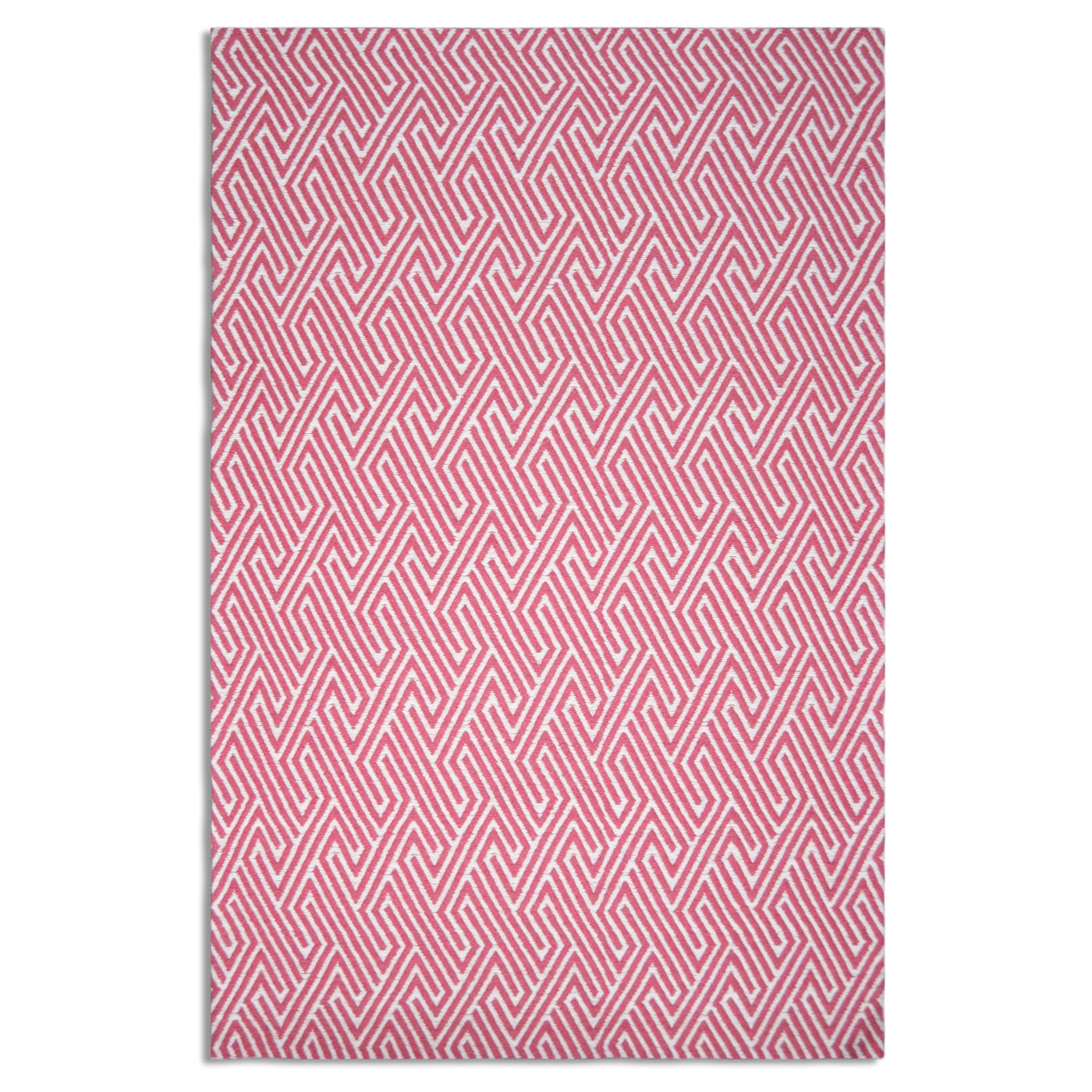 Meandros Rug Pink