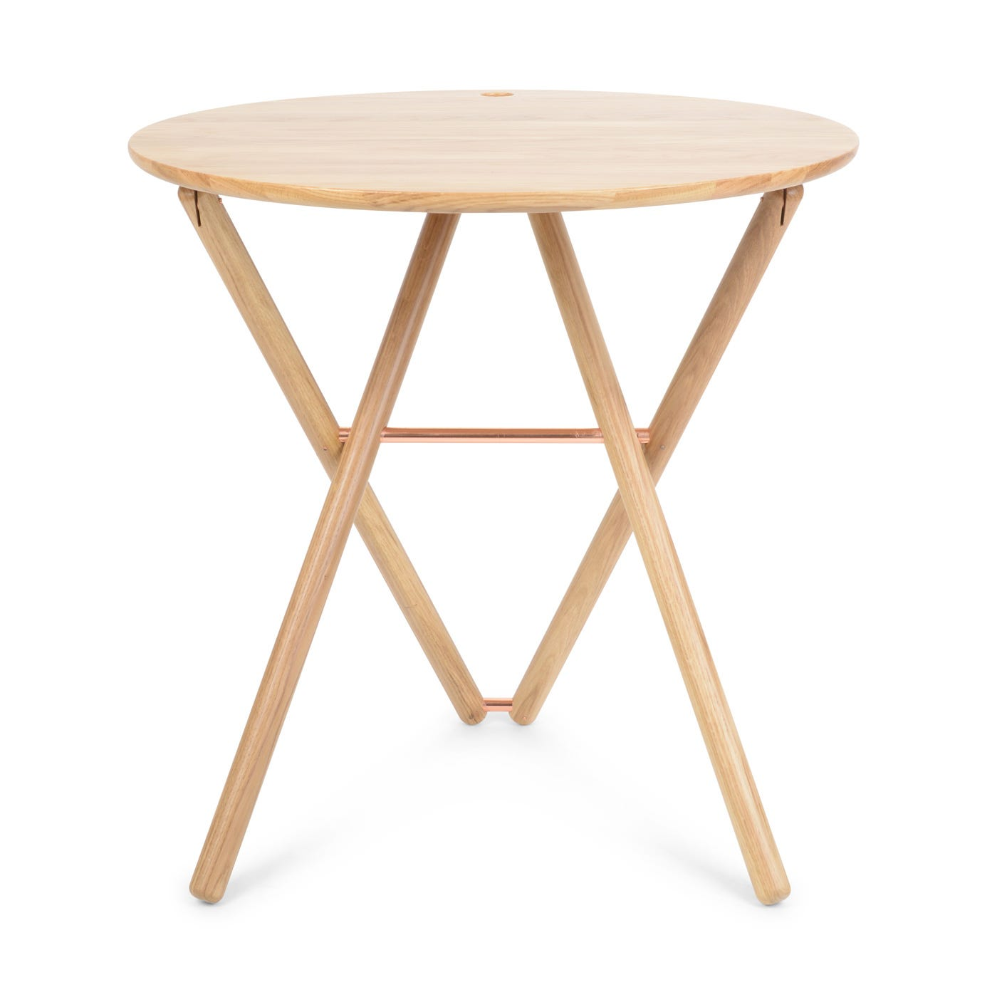 My Ami Round Bistro Table Oak