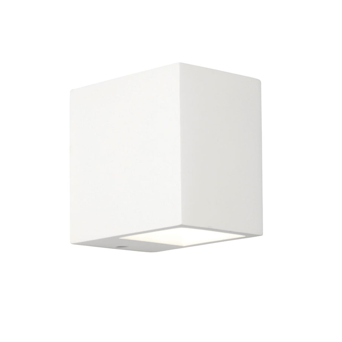Mosto Plaster White Up/Down Wall Light